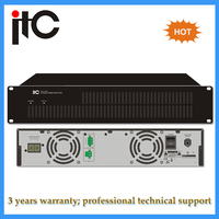 Professional digital voice alarm system 1,2,4 channel class d amplifier