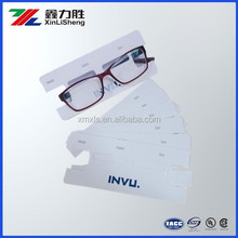Optical frames backcard printing/backing card/product information paper card