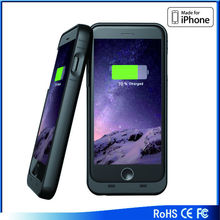Rechargeable backup portable charging case,MFi battery case charging for iphone 4/5/6