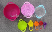 food grade plastic bowl set