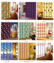 China Manufacturer Polyester Bath Shower Windows Curtain