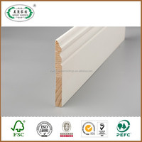 Trim Solid Ceiling Crown Wood Molding For Home Decorative