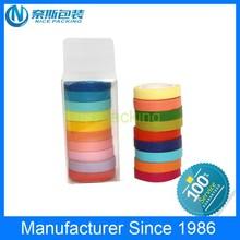 2015 New Design Decorative Colorful Custom Washi Paper Tape