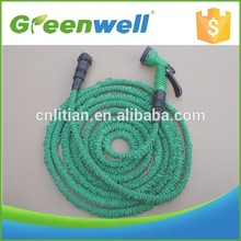 High response rate 2 layers pure latex factory ! expandable hose garden water hose 3x expandable hose