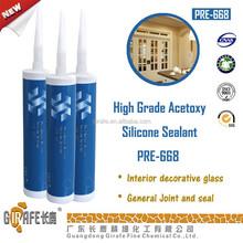 High Grade Acetoxy Silicone Window Sealant PRE-668