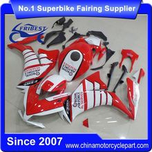 FFKHD022 China Fairings Motorcycle For CBR1000RR 2012 2013 2014 Red With White Wing