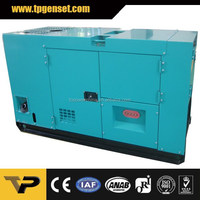 Denyo Style 60HZ Small Silent Diesel Generator with Rated Output Power 20kw 25kva