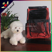 2015 Fashion cheap sturdy Pet carrier bag with wheels