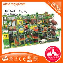 CE jungle themed indoor playground, kids playground indoor ,forest themed indoor playground for sale