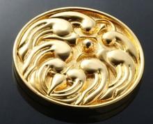 Alta definición moneda del metal del oro at bajo costo recogida