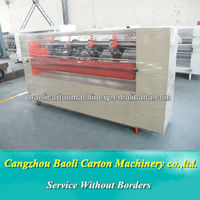 Paperboard thin blade slitter/Corrugated Cardboard Thin Blade Slitter Scorer machine