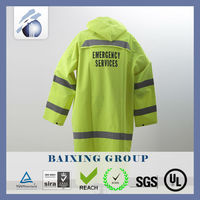 High Visibility Reflective Polyester Motorcycle