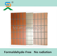 100% non-Asbestos Water proof Fire rated Class A 1220*2440mm 6mm various color fireproofing Fiber cement board Siding