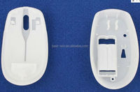 white plastic mouse parts sla rapid prototyping