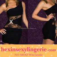 Hot sale tube sex hot black satin lingerie babydolls