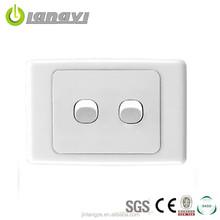 Australia standard 2 gang Eletric wall switch (LY2-2(HH))