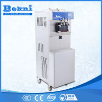 Hot selling frozen yogurt machine, commercial frozen yogurt machine BKN-B36 with pre-cooling system