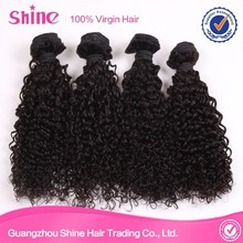 2015 hot selling in New York Black Curly Hair Extensions For Black Women