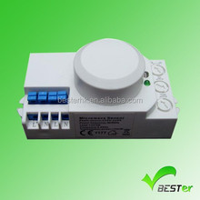 Garage and Bank used time delay power saving intelligent Microwave sensor switch with CE and Rohs