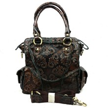 Wholesale Vintage Casual 100% Genuine Leather Cowhide Women Handbag Shoulder Messenger Crossbody Bag Bags For Ladies