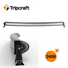 High quality! 240w led curved light bar off road,4x4,SUV,ATV,TRUCK, CE IP67 RoHs