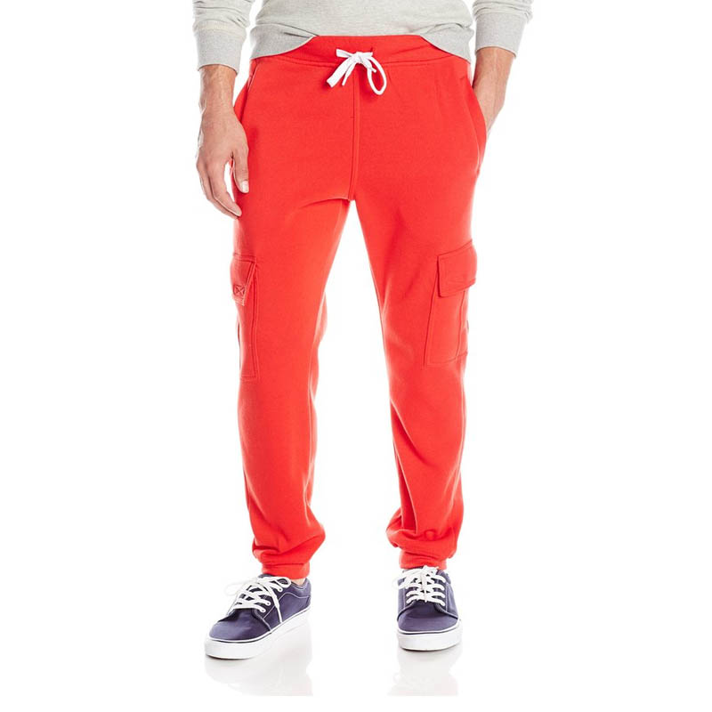 Hombres Activo Pantalones Basculador Pantalón con Bolsillos de Lana Básica
