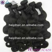 Factory Wholesale Unprocessed Hair/regular wave hair weave