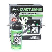 No Car Jack SLIME SAFETY REPAiR Flat Tire Repair System SLIME