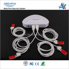 mobile phone security alarm device retail security device for cell phone A800
