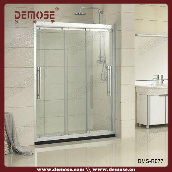Self cleaning glass shower enclosures small shower for 3 panel tub shower doors