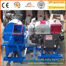 Tractor Mounted Wood Chipper Crusher Machine
