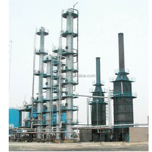 waste oil to diesel fuel refinery with PLC control system,oil distillation