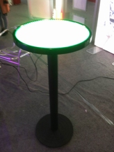 Edgelight nightclub furniture led bar table lluminated furniture buy from china