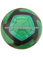 Rubber footballs promotional hand sew soccer balls