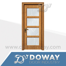 MDF glass door