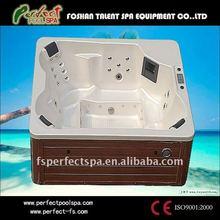 Feast acrylic massage wooden bathtub