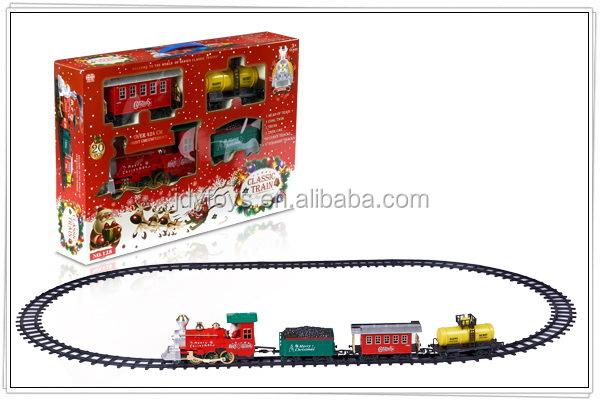 lectrique de no l trains ferroviaire jouets avec le. Black Bedroom Furniture Sets. Home Design Ideas