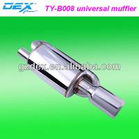 auto part tuning stainless steel 304 sport universal sport racing exhaust muffler