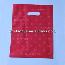 hot selling carrier plastic bags for clothing for shopping