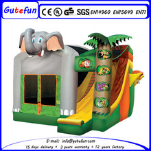 big commercial bouncer house with slide inflatables price