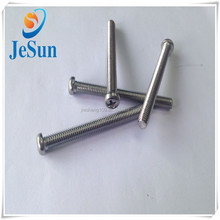 2015Hot sales philips pan head stainless steel screw,SUS bolt,full thread screw