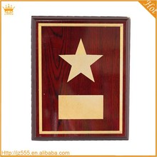 Hot Sale red wooden square sublimation plaque