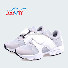 classic black and white mesh sports shoes,rubber sole shoes