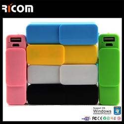 China CE ROHS Power bank 2600mah /PB107 Portable mobile power bank,portable power pack--Shenzhen Ricom