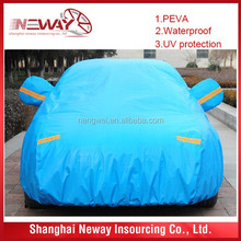 heavy duty waterproof and hail protect PEVA+ cotton car cover