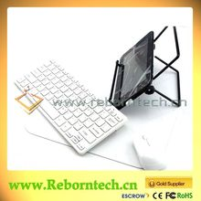 Wireless Bluetooth Keyboard with Mouse Small Pad Less Space for Travel