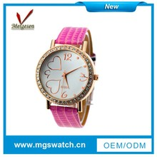 2014 good quality fashion water resistant lady watch