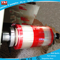Plastic packing film for candy pillow packing