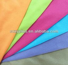 2013 shaoxing top 10 Fleece Blanket 100% Polyester Fabric for guangzhou scarfs