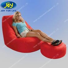 inflatable flocking lounge sofa set furniture,modern inflatable indoor sofa combination
